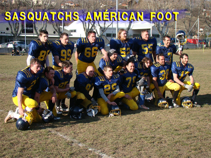 SASQUATCHS AMERICAN FOOTBALL CLUB GAP
