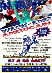 SASQUATCHS AMERICAN FOOTBALL CLUB GAP Alpes Animations DJ Kriss